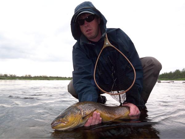 Rune med flott fisk