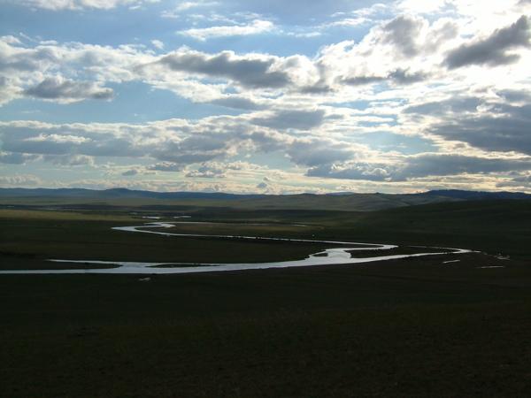 Utsikten fra campen