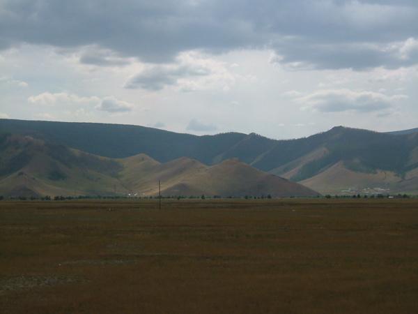 Gress og fjell