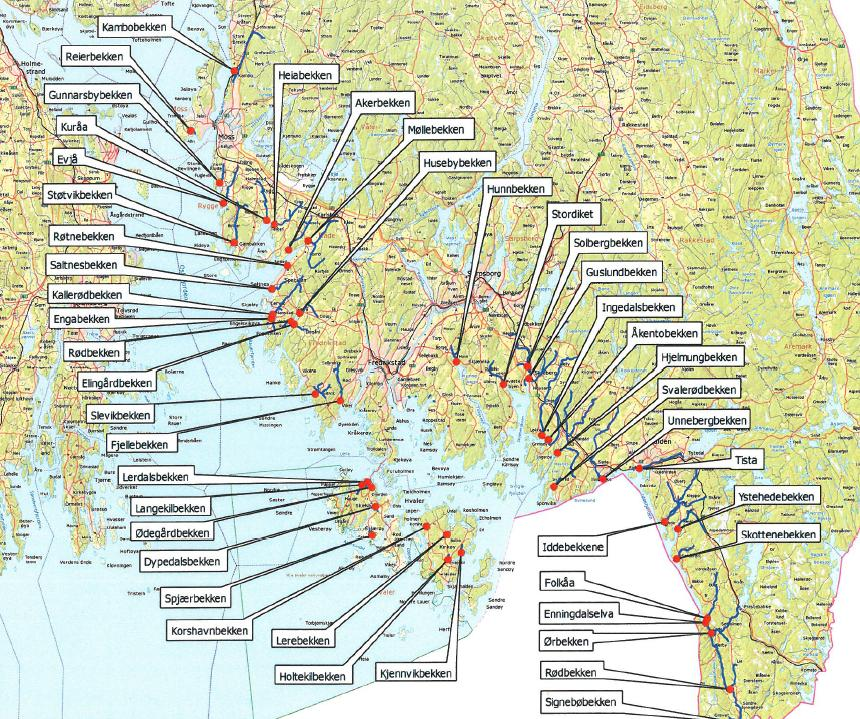 ågårdselva kart Sjøørretseminar på Bekkhus i kveld! ågårdselva kart